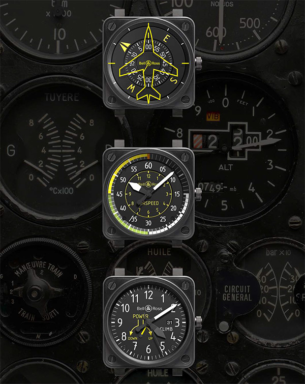 Bell and Ross BR01 Aviation Collection 1 Bell and Ross BR01 Aviation Collection