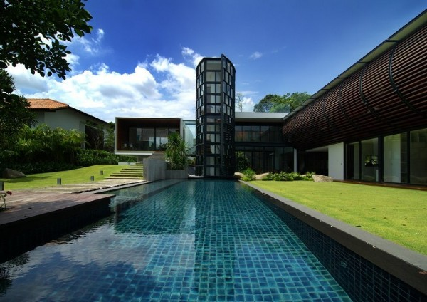 Dalvey Estate by aamer architects in singapore contemporary architecture 2