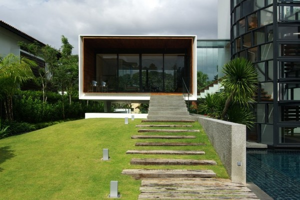 Dalvey Estate by aamer architects in singapore contemporary architecture 4 Dalvey Estate by Aamer Architects | Singapore