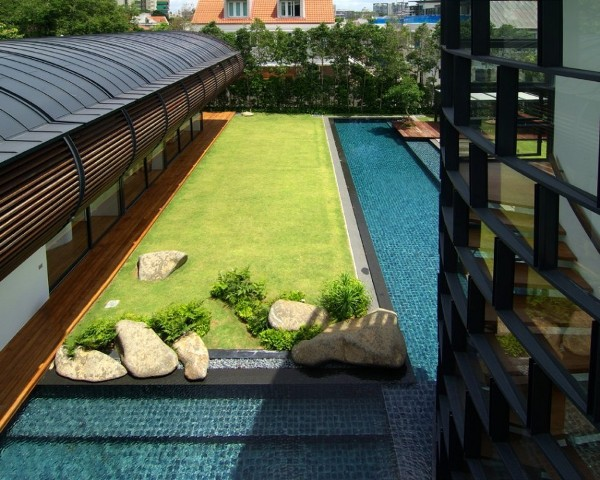Dalvey Estate by aamer architects in singapore contemporary architecture 5