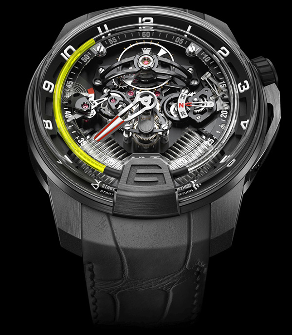 HYT H2 Hydro Mechanical Watch 1 HYT H2 Hydro Mechanical Watch