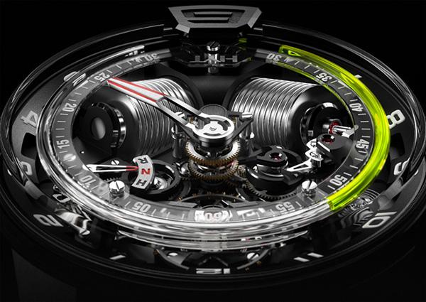 HYT H2 Hydro Mechanical Watch 2