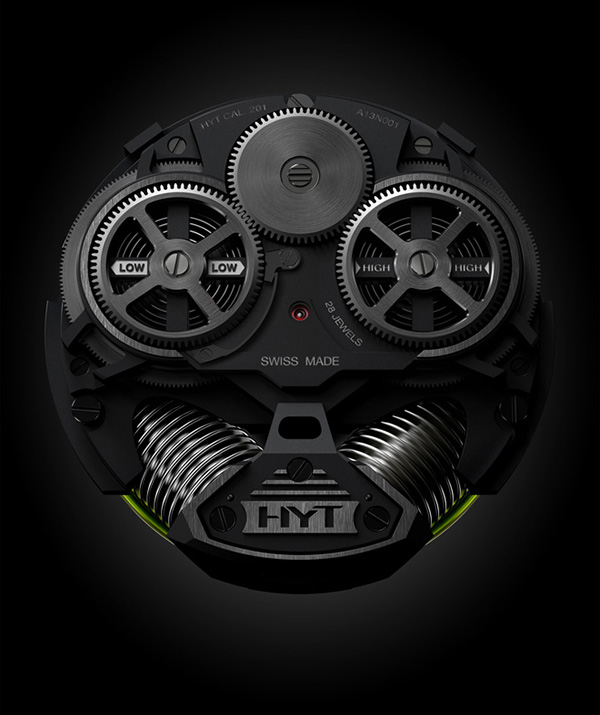 HYT H2 Hydro Mechanical Watch 3 HYT H2 Hydro Mechanical Watch