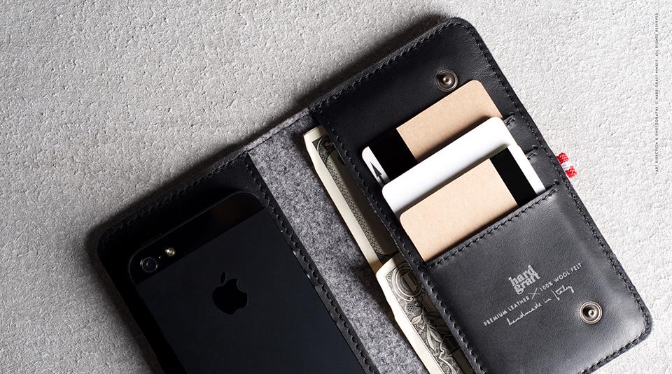 Hard Graft Mighty Phone Fold Wallet  4