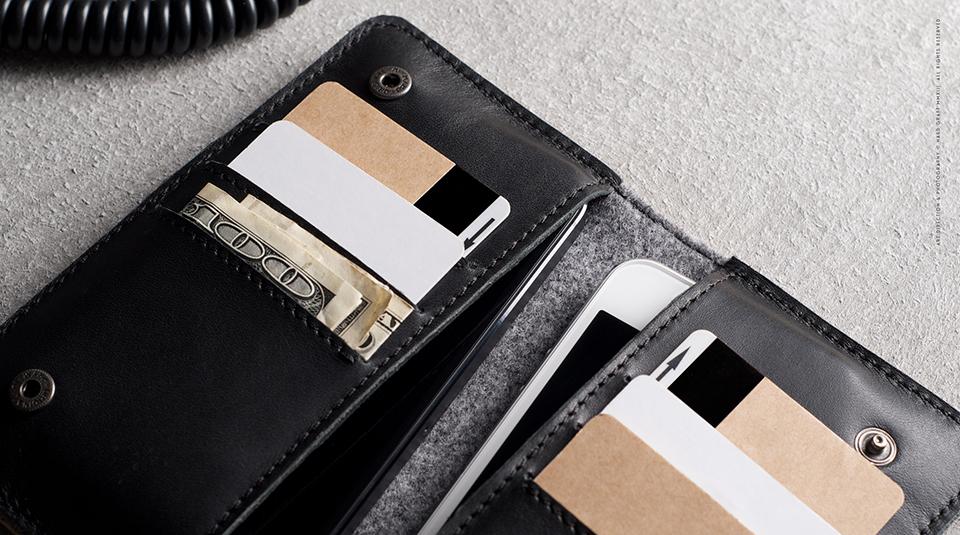 Hard Graft Mighty Phone Fold Wallet  6