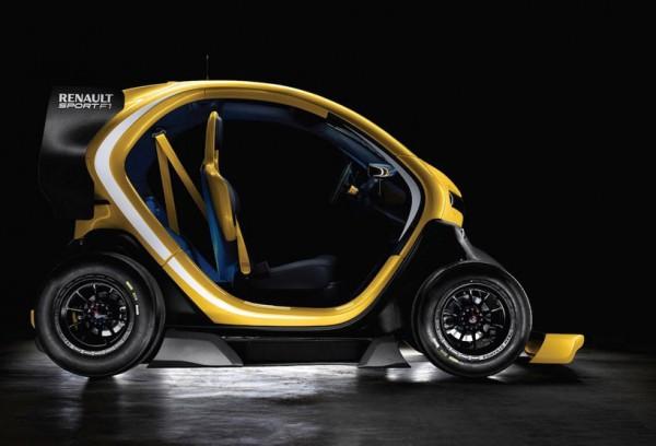 Renault Twizy Sport F1 Electric Commuter 3 600x408 Renault Twizy Sport F1
