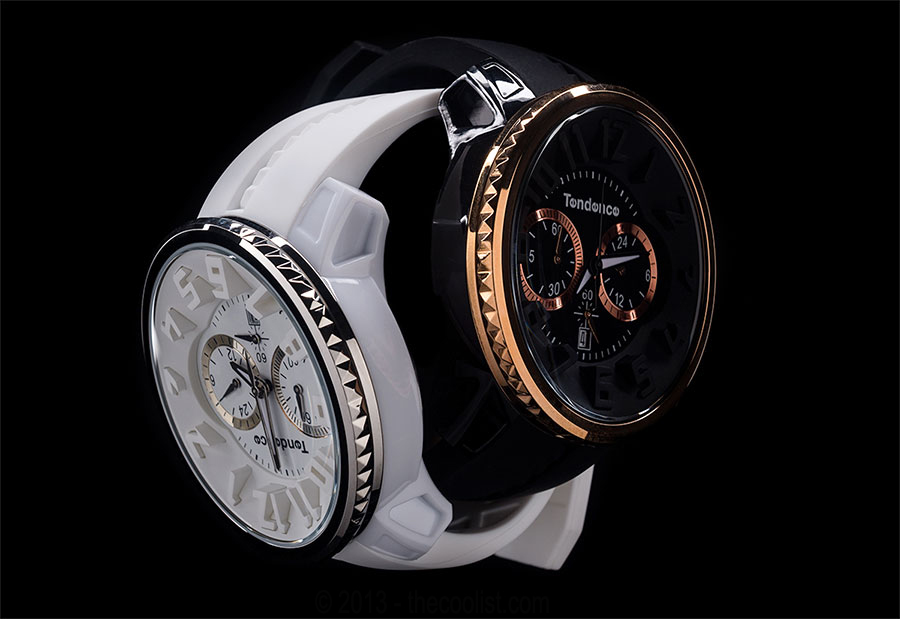 Tendence-Watches—Black-and-White