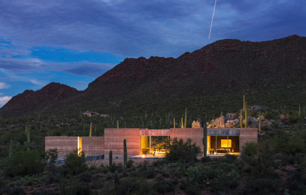 Tucson Moutain Retreat by DUST 1 600x384 Tucson Mountain Retreat by DUST