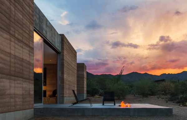 Tucson Moutain Retreat by DUST 2 600x385 Tucson Mountain Retreat by DUST