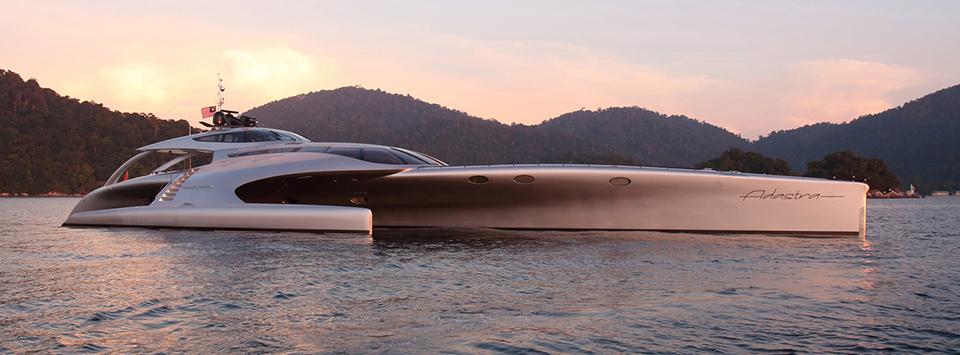 Adastra Superyacht Takes to the Seas 1