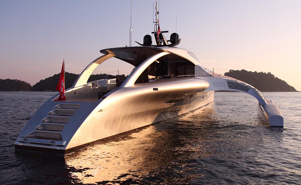 Adastra Superyacht Takes to the Seas 2