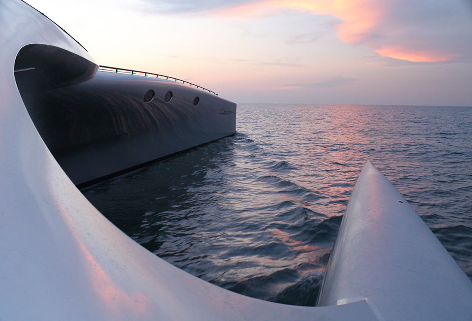 Adastra Superyacht Takes to the Seas 6