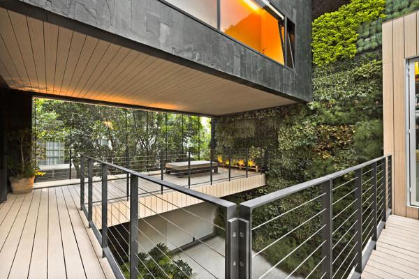 Casa CorManca by PAUL CREMOUX Studio 1 600x400 Casa CorManca and the Living Green Wall