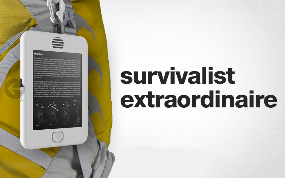 Earl Backcountry Survival Tablet 8