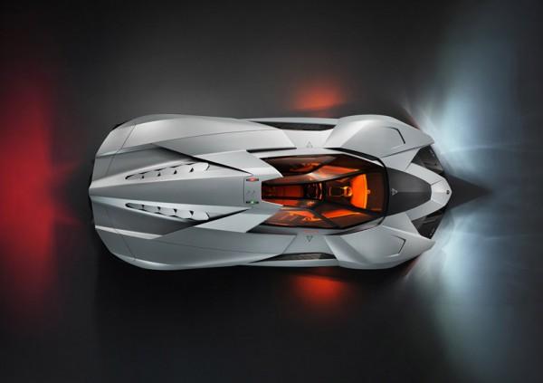 Lamborghini Egoista Concept 5