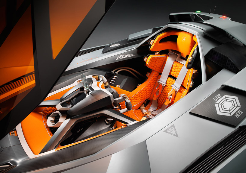Lamborghini Egoista Concept 6