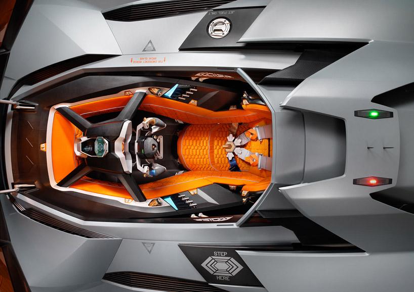 Lamborghini Egoista Concept 7