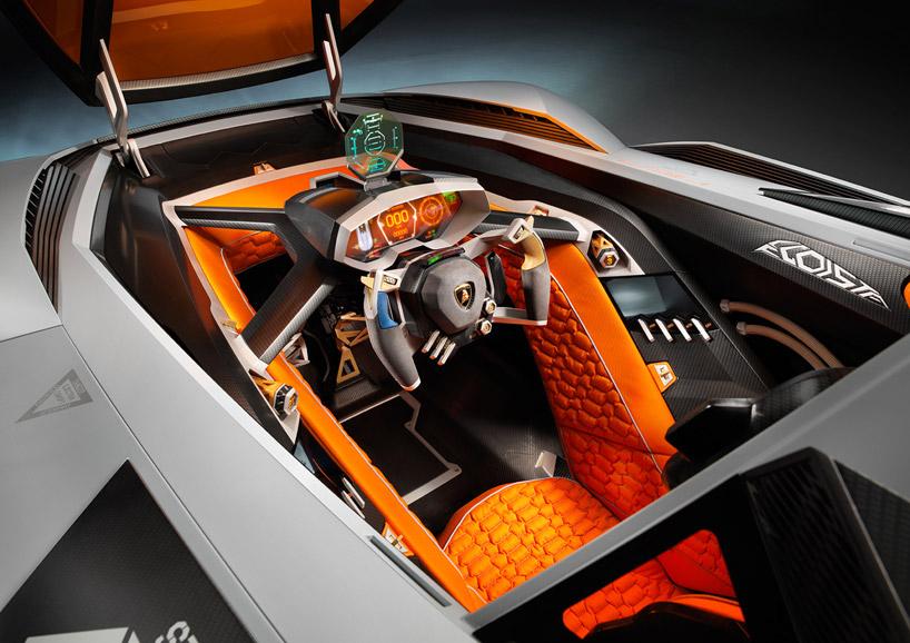 Lamborghini Egoista Concept 8