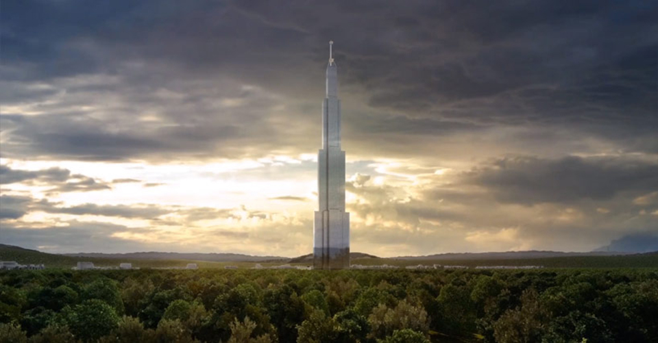 Sky City The Worlds Tallest Building 1