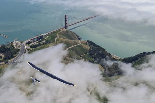 Solar Impulse Solar Powered Record Flight 1 600x401 Solar Impulse Solar Powered Record Flight