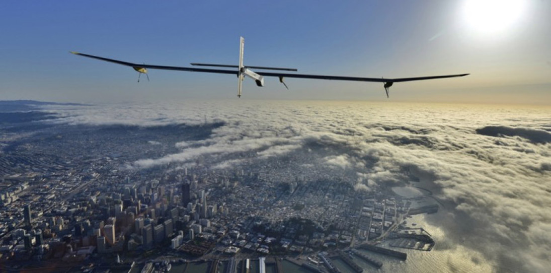 Solar Impulse Solar Powered Record Flight