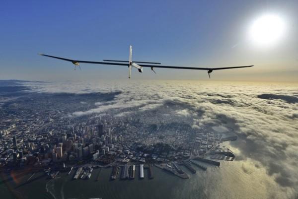 Solar Impulse Solar Powered Record Flight 2