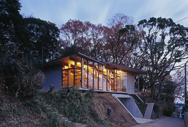 Geo Metria House by Mount Fuji Architects Studio 1 600x406 Geo Metria House   Japan