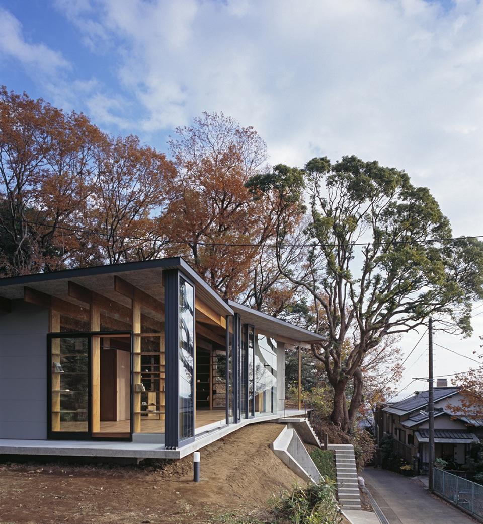 Geo Metria House by Mount Fuji Architects Studio 14