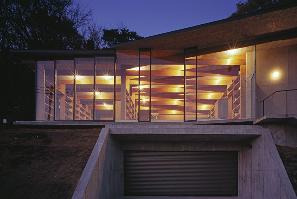 Geo Metria House by Mount Fuji Architects Studio 9 600x403 Geo Metria House   Japan