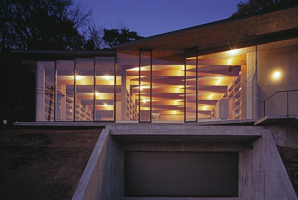 Geo Metria House by Mount Fuji Architects Studio 9