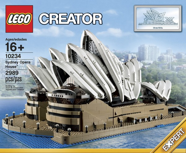 LEGO Sydney Opera House 3 600x493 LEGO Sydney Opera House