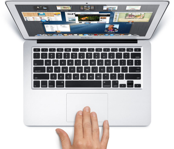 New Macbook Air 2 600x514 The New MacBook Air