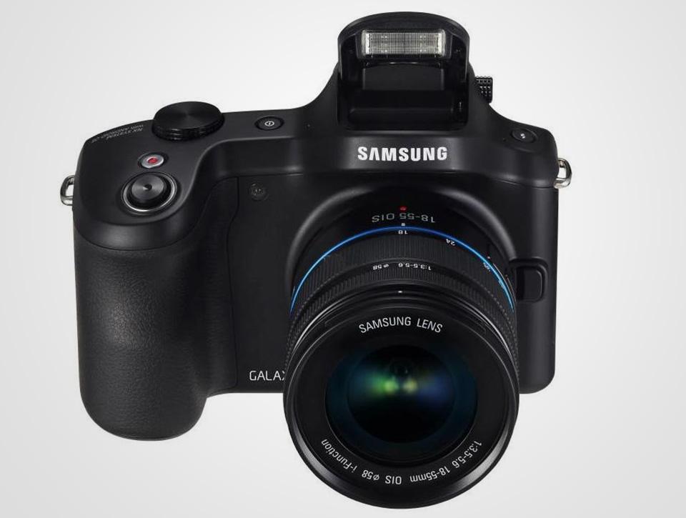 Samsung Galaxy NX Android Digital Camera 1