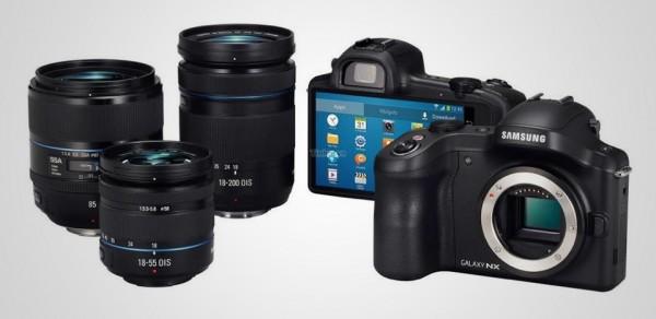 Samsung Galaxy NX Android Digital Camera 2 600x292 Samsung Galaxy NX Android Digital Camera