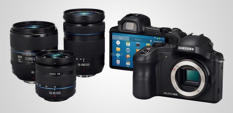 Samsung Galaxy NX Android Digital Camera 2