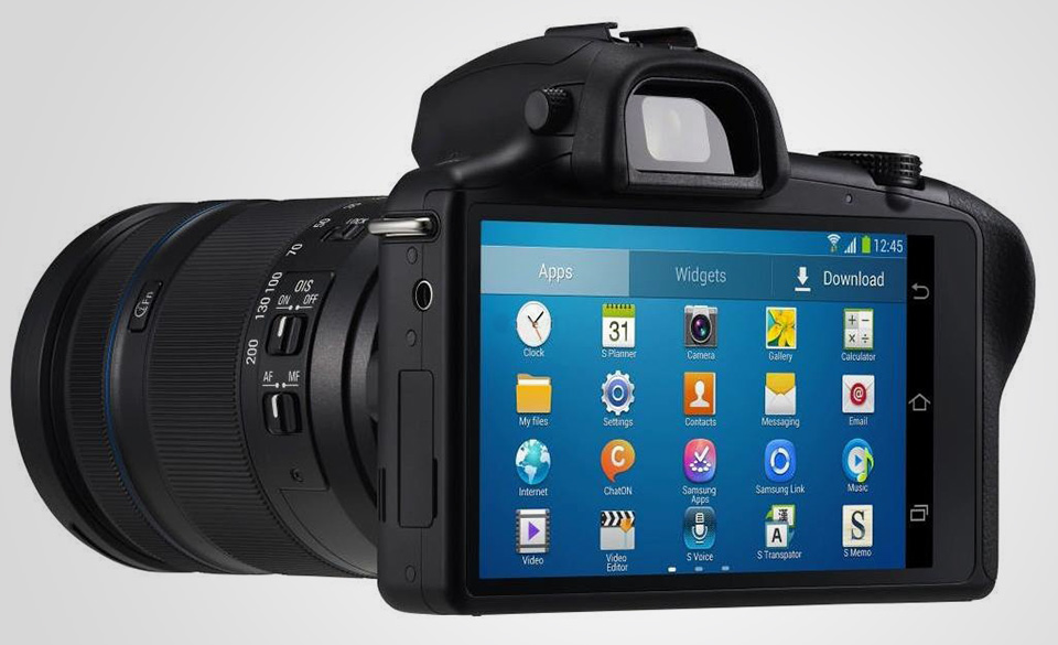Samsung Galaxy NX Android Digital Camera 3