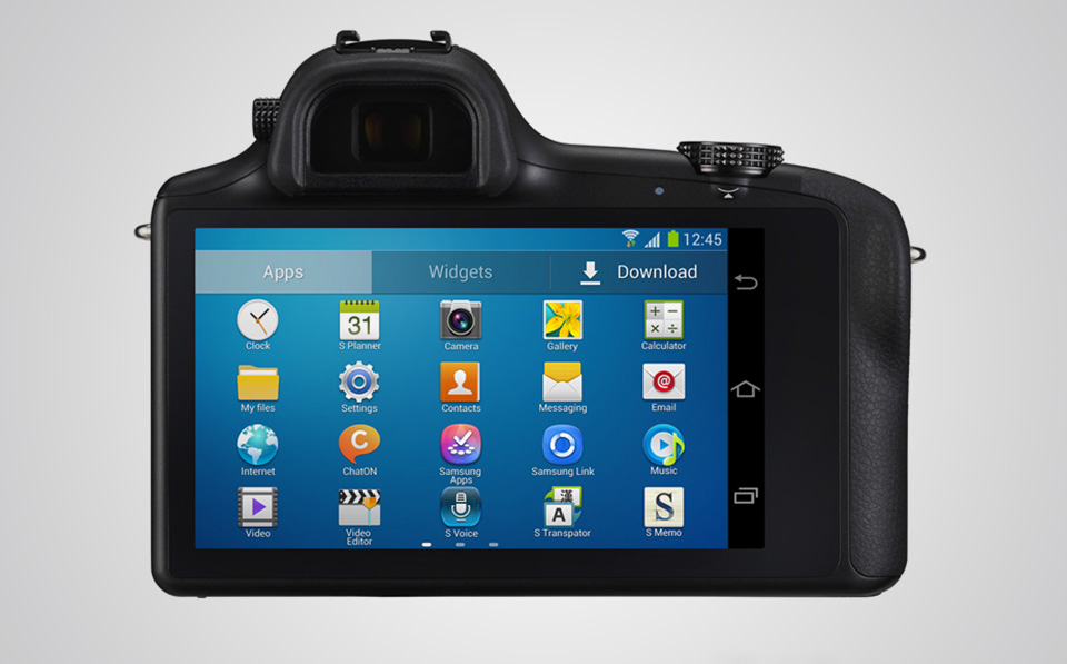 Samsung Galaxy NX Android Digital Camera 5