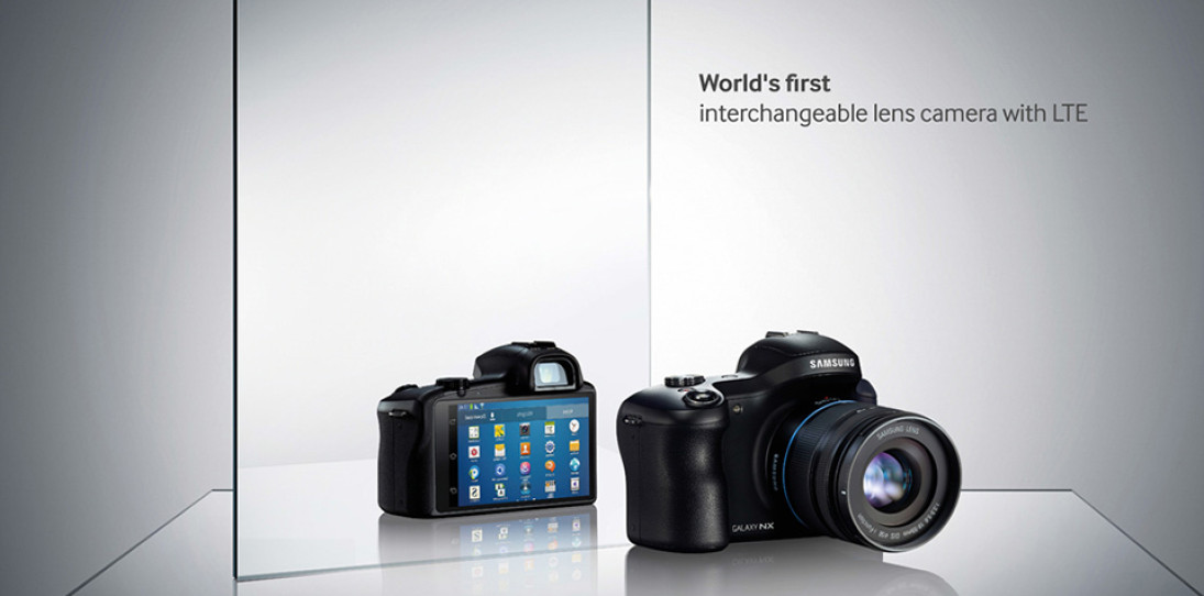 Samsung Galaxy NX Android Digital Camera