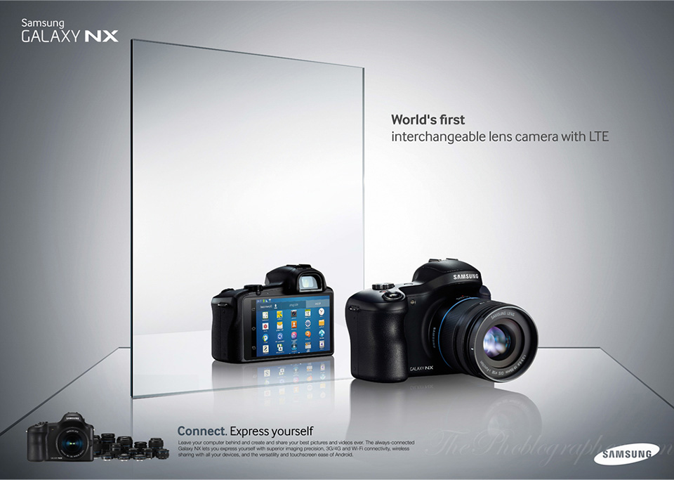 Samsung Galaxy NX Android Digital Camera 9