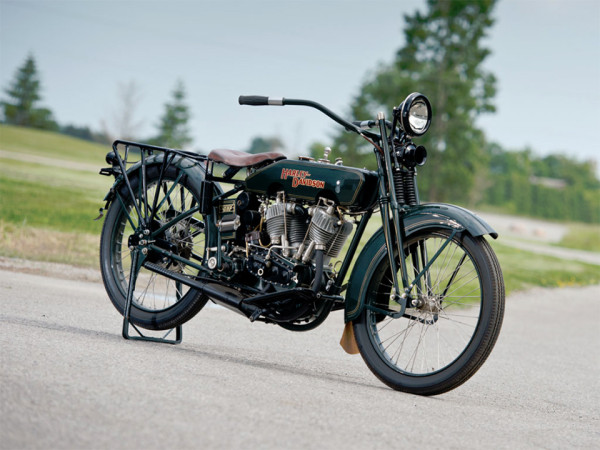 1922 Harley Davidson JD Motorcycle 1 600x450 1922 Harley Davidson JD Motorcycle