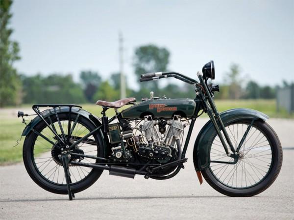1922 Harley-Davidson JD Motorcycle 5