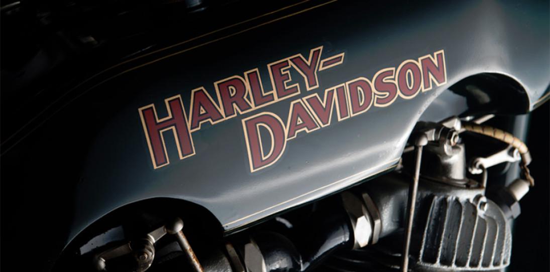 1922 Harley-Davidson JD Motorcycle