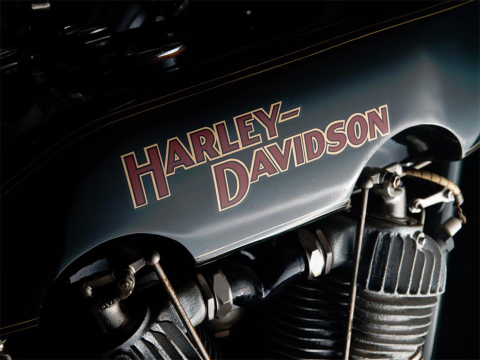 1922 Harley-Davidson JD Motorcycle 6
