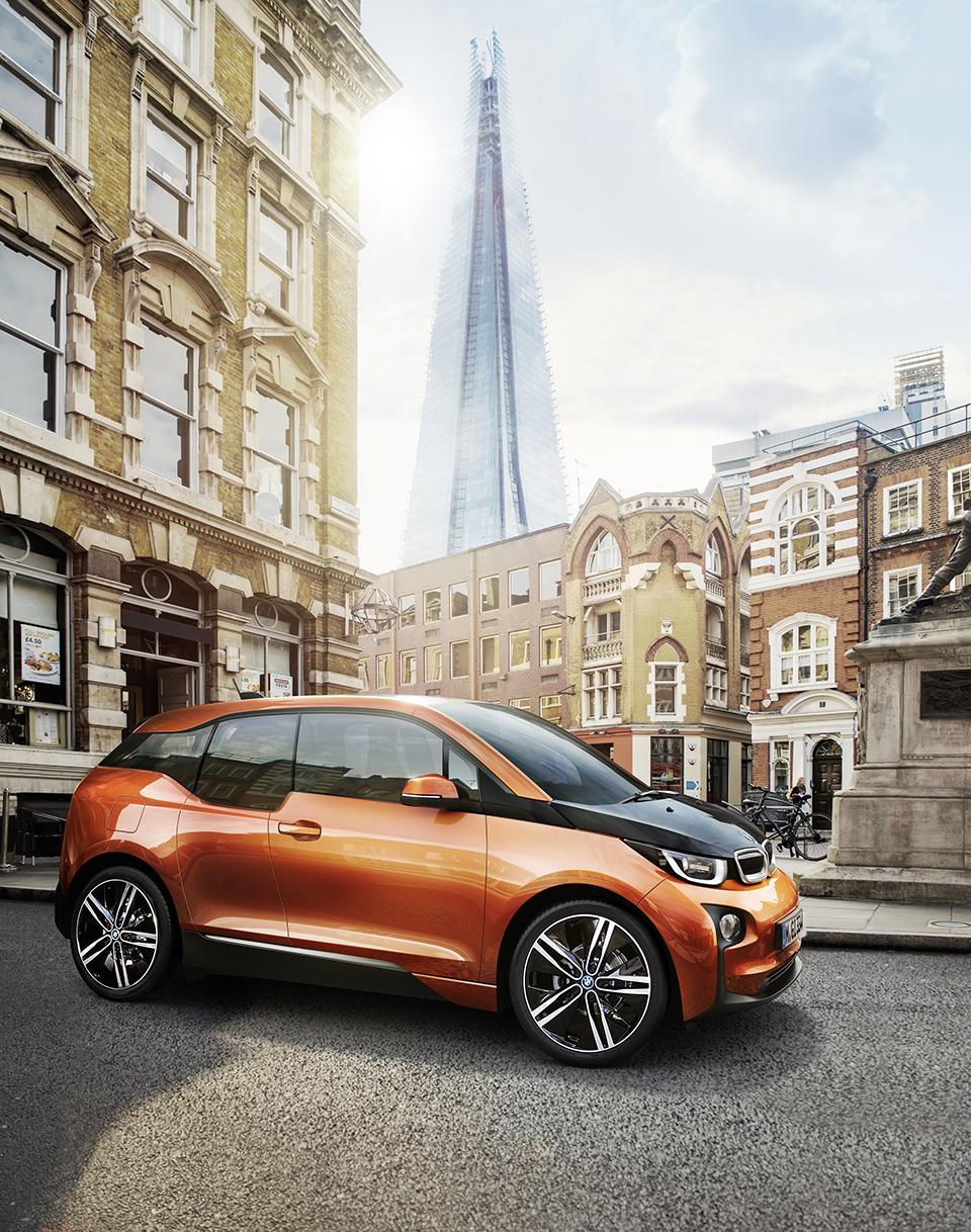 BMW i3 Electric Car (8)