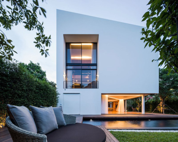 Baan Moom House by IF 1 600x480 Baan Moom House by IF