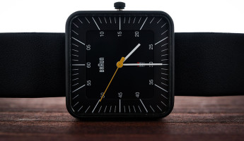 Braun BN0042 Black Date Leather Watch