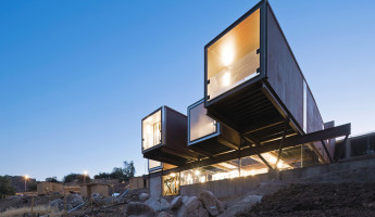 Caterpiller House – Chilean Shipping Container House