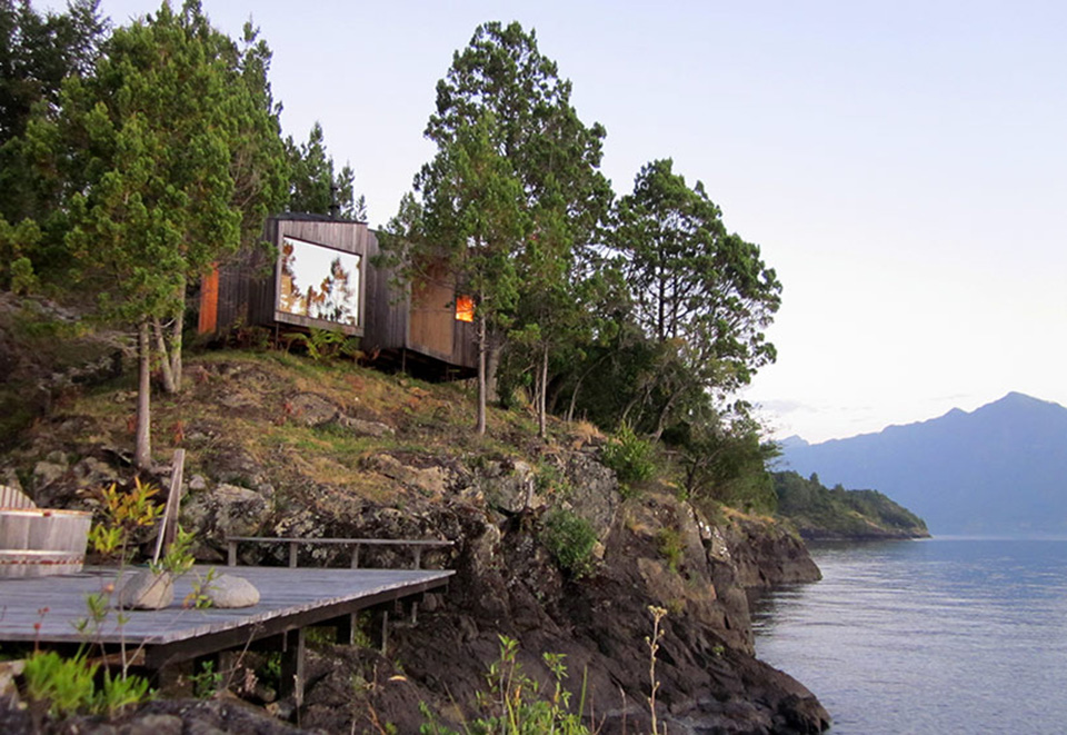Lakefront Sauna by Panorama Arquitectos 1