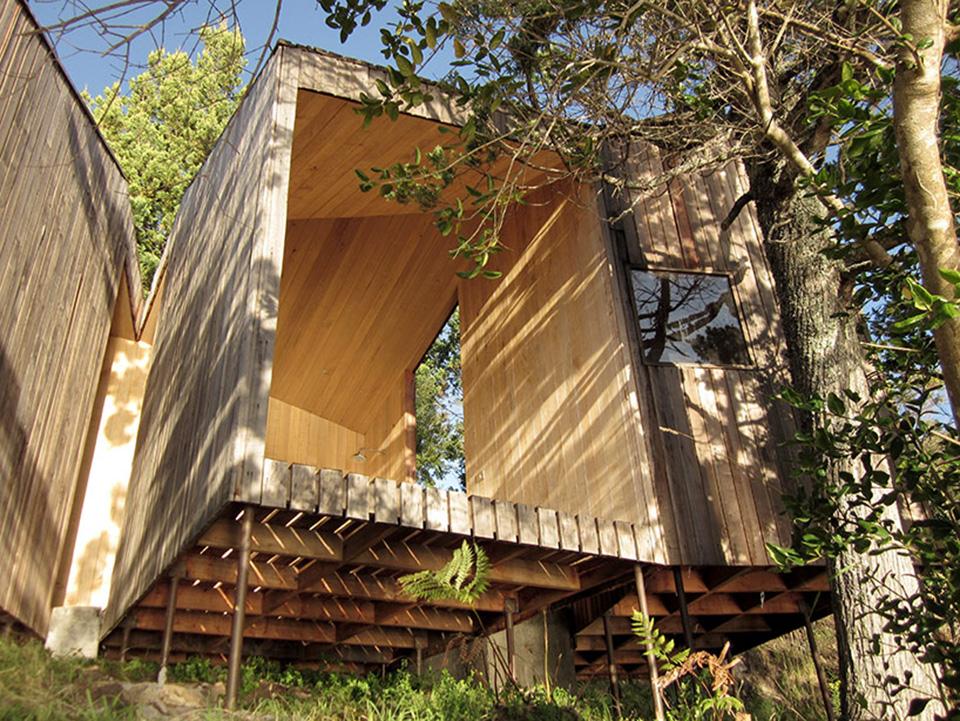Lakefront Sauna by Panorama Arquitectos 10
