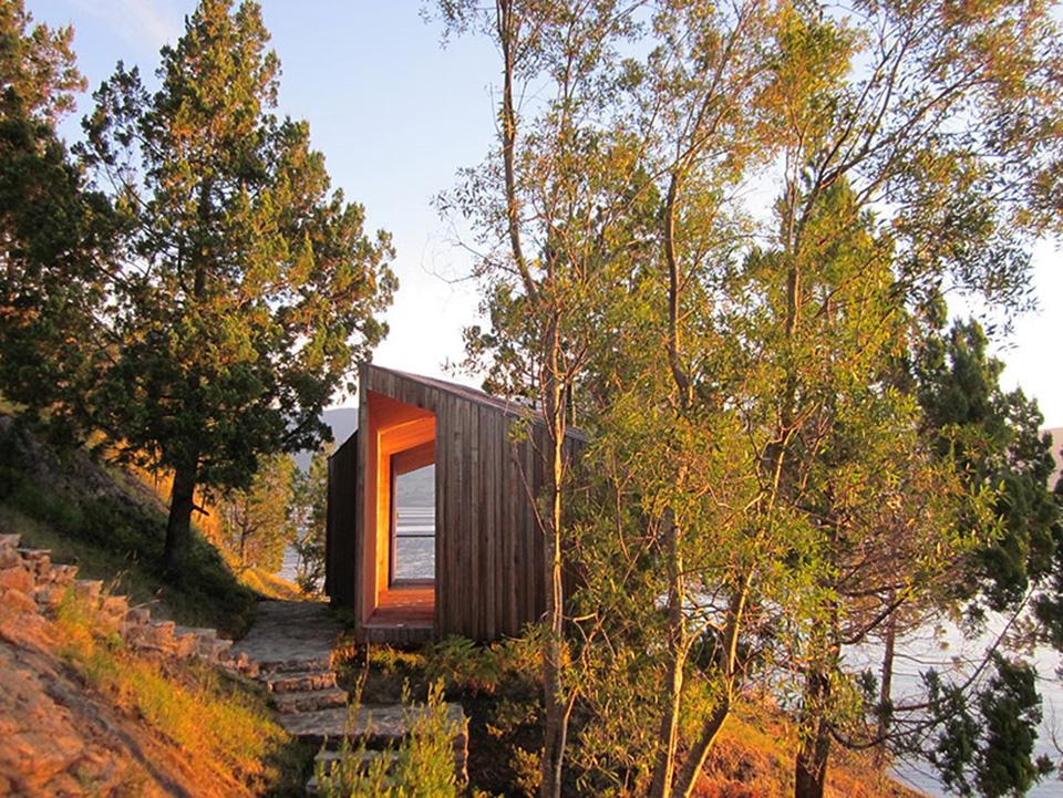 Lakefront Sauna by Panorama Arquitectos 2